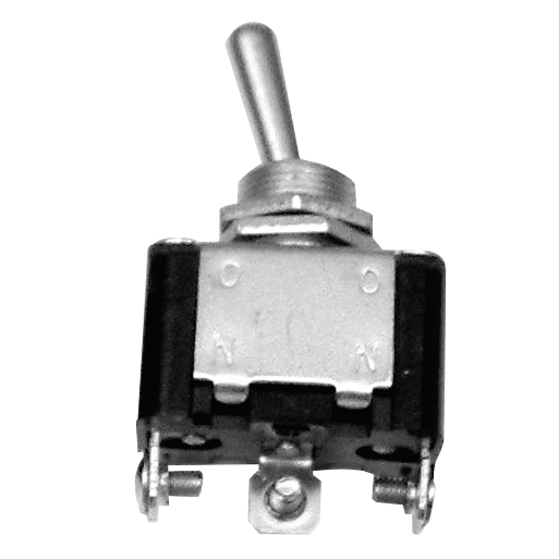 HD On/Off/On 25A Metal Toggle Switch