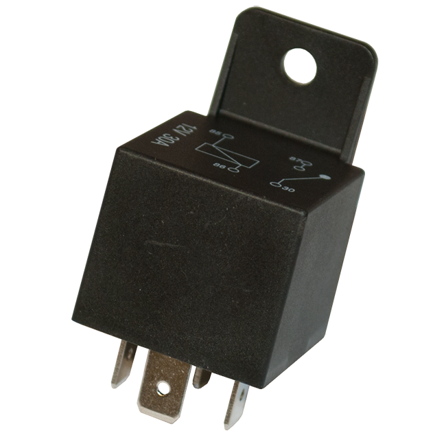 Standard 4-Pin Relay 12v 30A On/Off Switching