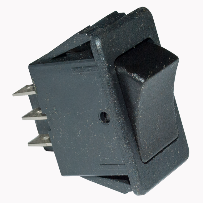 On/On Dual Circuit Rocker Switch