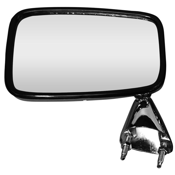 Escort MK2 Door Mirror - Chrome Finish LH - Nearside