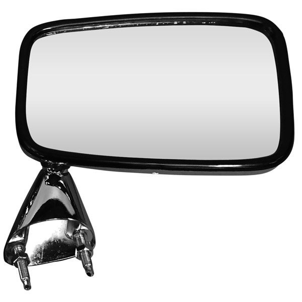 Escort MK2 Door Mirror - Chrome Finish RH - Offside