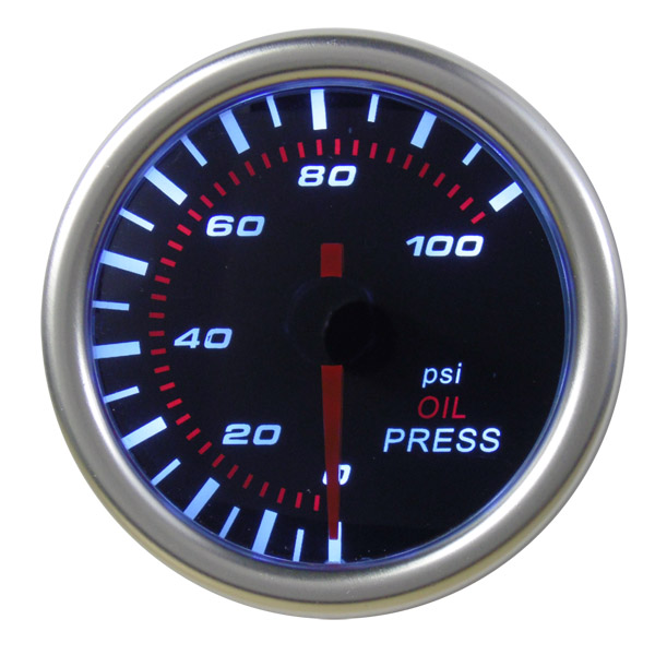 52mm Oil Pressure Gauge (Psi) - NG016