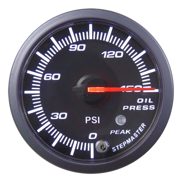60mm Stepper Oil Pressure Gauge - NG065
