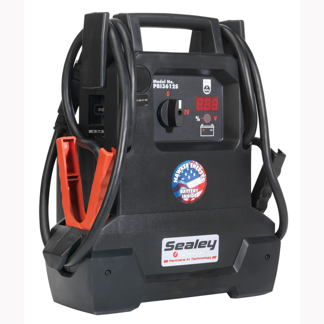 Sealey RoadStart Power Pack 12V 4400 Peak Amps