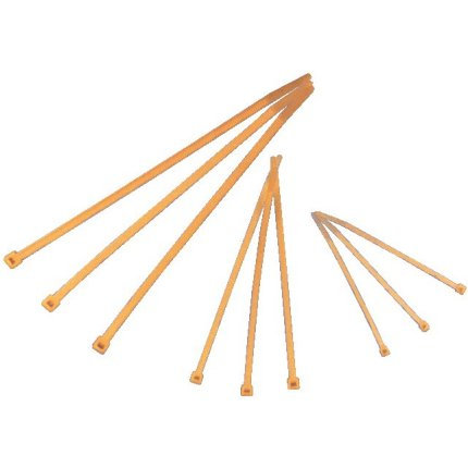 High Temperature Cable Ties - 100mm long x 2.5mm wide