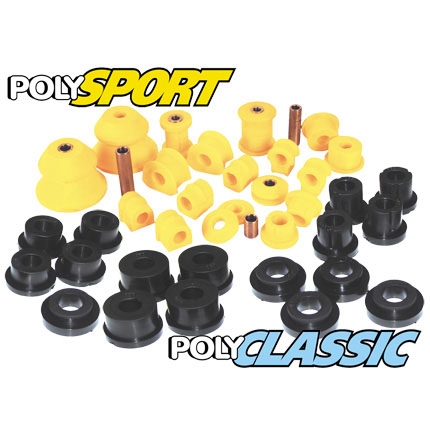 Single Leaf Rear (60mm) - MK2 Rear PolySport Bush