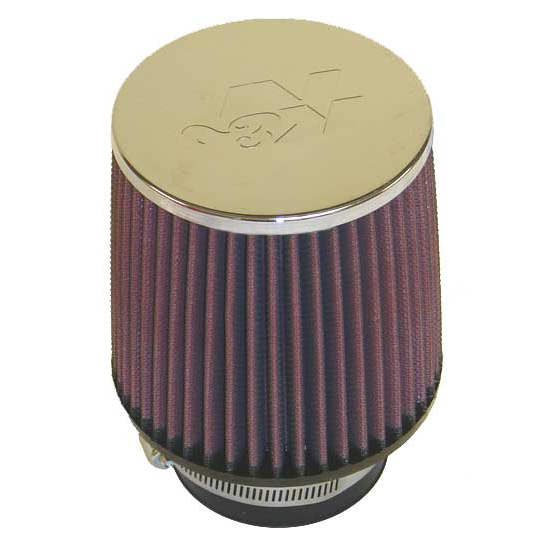 K&N Round Tapered Air Filter (76mm Flange)
