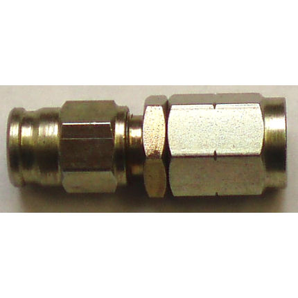 Female swivel convex seat hose fitting - (M10 x 1)