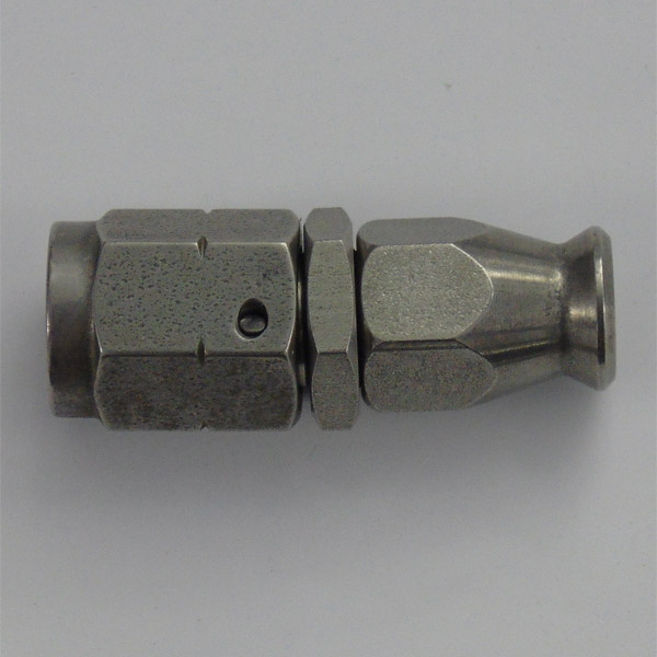 Stainless Female Swivel Concave Seat Hose Fitting - M10 x 1