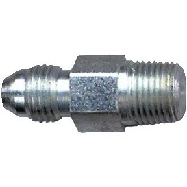 Hose Fitting 1/8 NPT to 3/8 x 24 male/male fitting