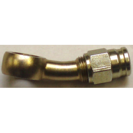Hose Fitting 20° Extended Neck Banjo - M12