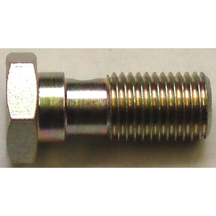 Single Take Off Banjo Bolt Hose Fitting - M12