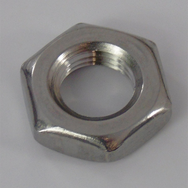 Stainless Locknut - M10 x 1