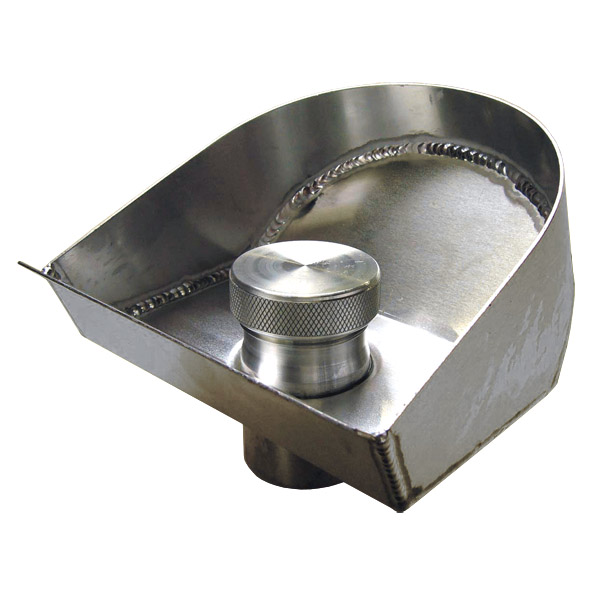 12 Gall.Fuel Tank - Filler bowl