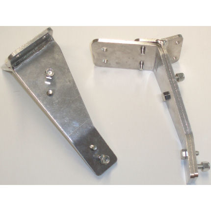 MK1 Escort Q/R Alloy lamp Brackets