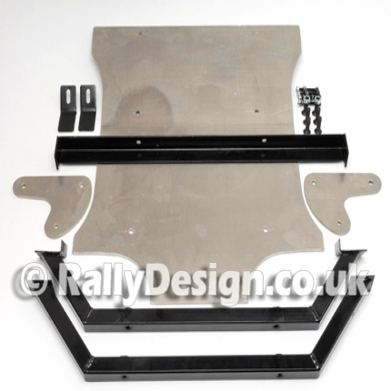 Escort Group 4 Ally Sumpguard 8mm - Dry Sump