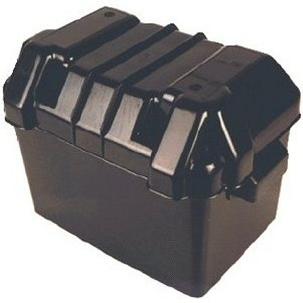 BATTERY BOX - BLACK SMALL (inj. moulded) Plastic