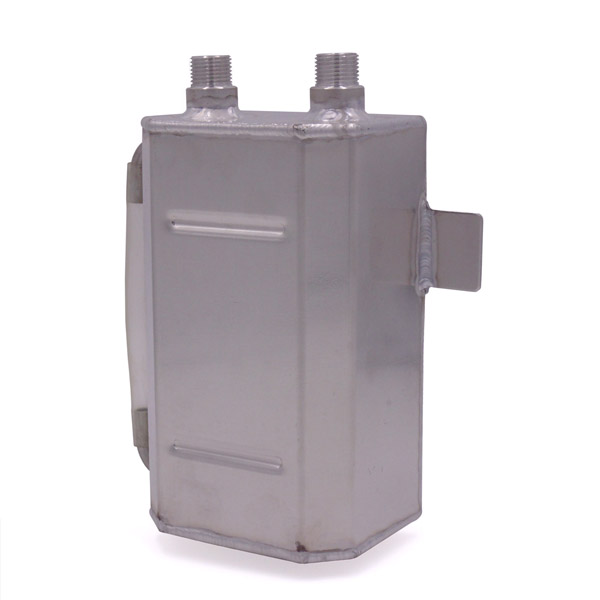 Oil Catch Tank - Alloy - 2 Litre
