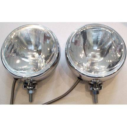 "MAXTEL 8"" (200mm) Off Road Drive Lamps - Slimline - Pair"