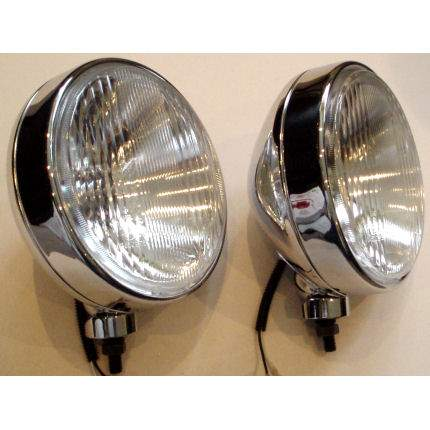 "MAXTEL 9"" (215mm) Off Road Drive Lamps - Pair"
