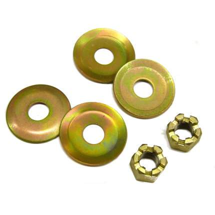 Escort MK1 & MK2 Roll Bar Cup Washers & Castellated Nuts