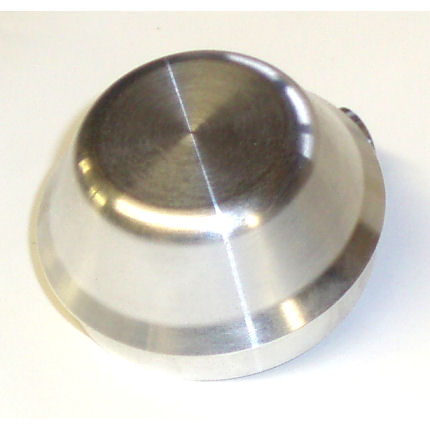 Standard Alloy Grease Cap - Escort / Cortina