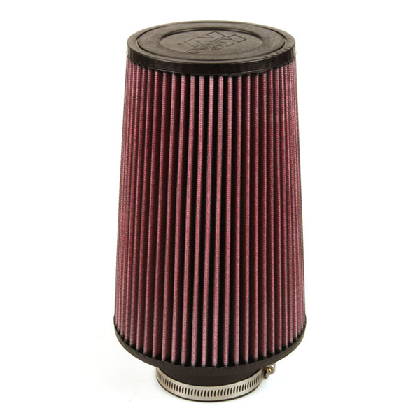 K&N Round Tapered Rubber Air Filter (76mm Flange)