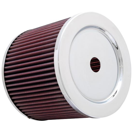 K&N Round Reverse Tapered Air Filter (76mm Flange)