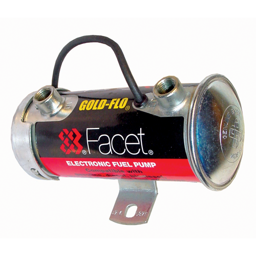 Facet Fuel Pump - Competition Silver Top