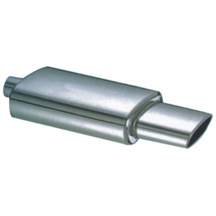 Stainless Silencer - Large Oval