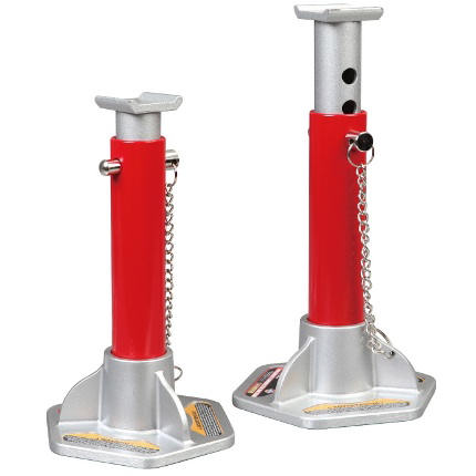 Big Red 3.0 Ton Professional Aluminium/Steel Axle Stands