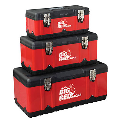Big Red 3 in 1 Tool Box Set