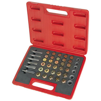 Big Red 114 Piece Drain Plug Thread Repair Set