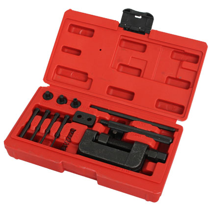 Big Red Motorcycle Chain Breaker & Riveter Tool Link Splitter
