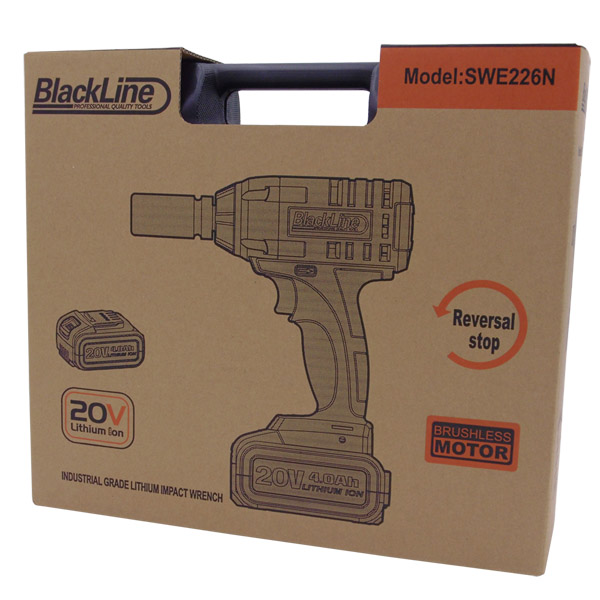"Blackline 320Nm Lightweight Impact Wrench 3/8"" Drive"