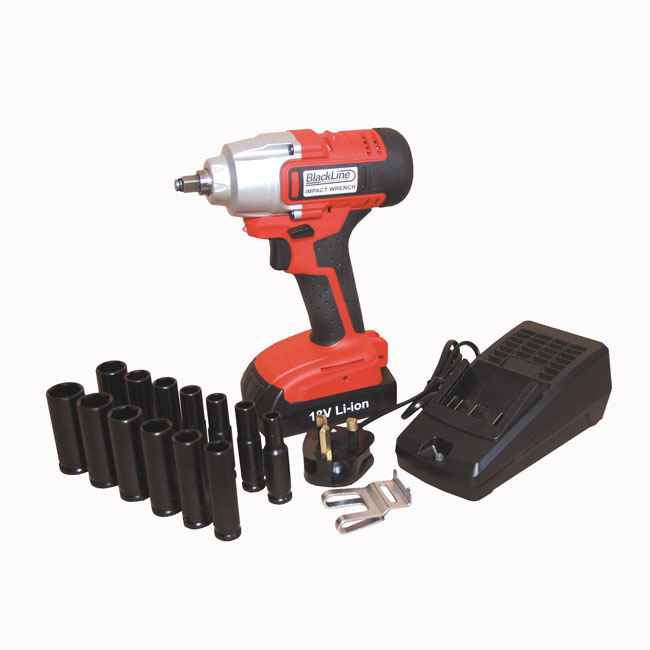 "Blackline 250Nm Lightweight Impact Wrench 3/8"" Drive"