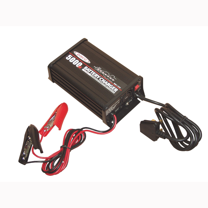 PACO 7 Stage Lead Acid Battery Charger 5,000 mA