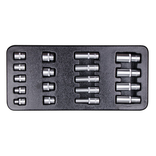 "Blackline 18pcs 3/8"" Drive Socket Set"