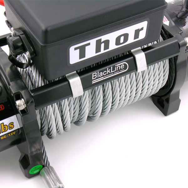 Blackline Thor 4x4 13500lb Wire Winch