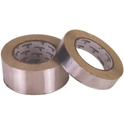 "Heat Reflective Aluminised Tape - 50mm (2"") x 50mts"