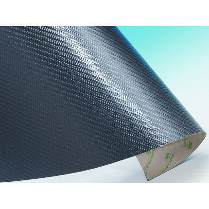 Carbon Fibre Self Adhesive Sheeting