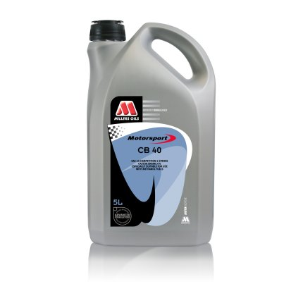 CB 40 For methanol fuels / where a castor oil is preferred